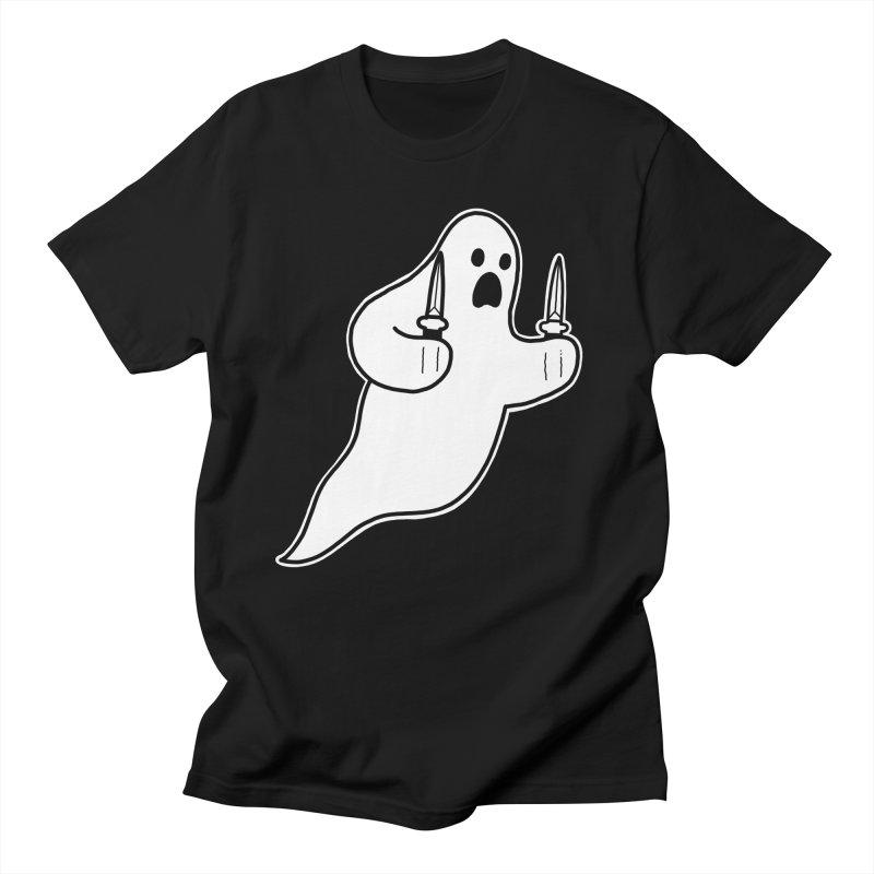 STAB GHOST Women's Regular Unisex T-Shirt by Tittybats's Artist Shop