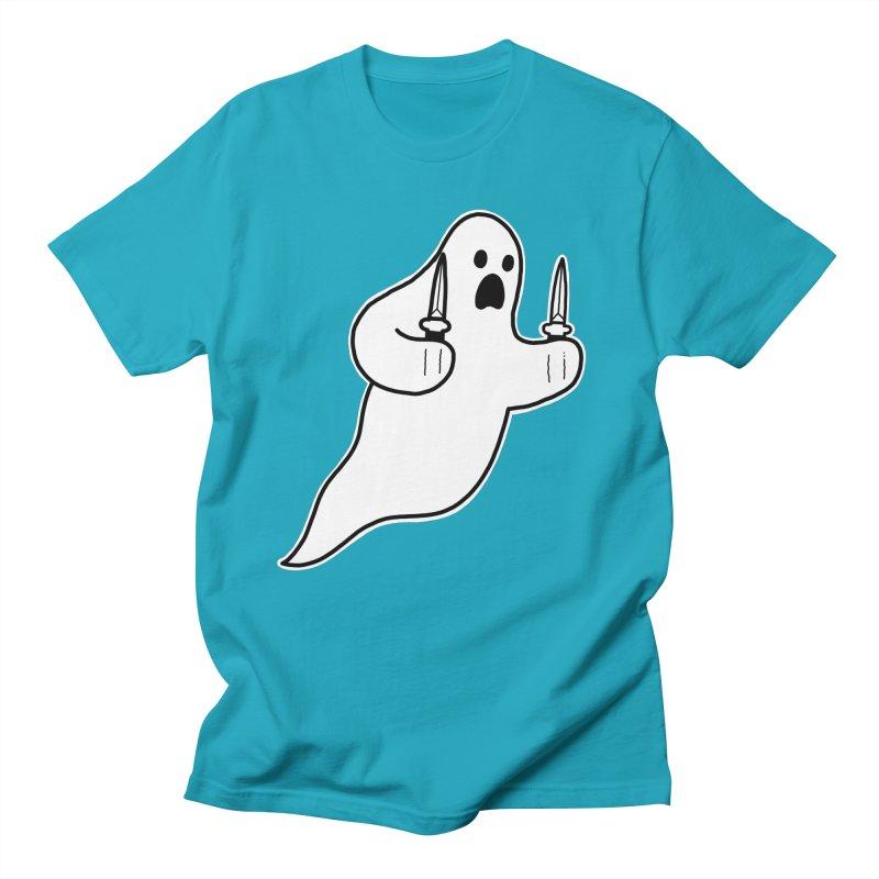 STAB GHOST Men's Regular T-Shirt by Tittybats's Artist Shop