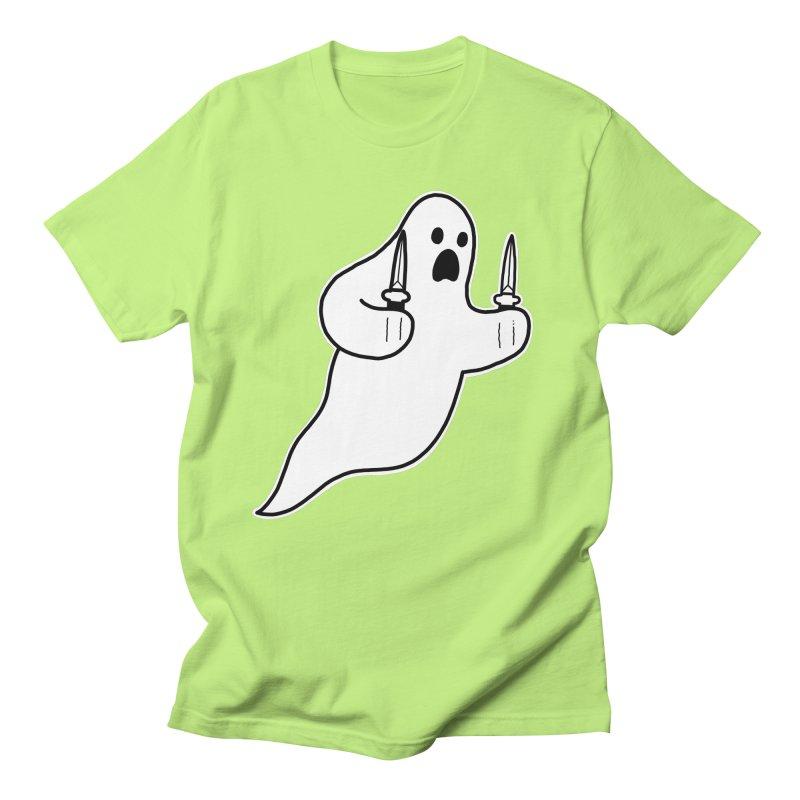 STAB GHOST Men's Regular T-Shirt by Tittybats