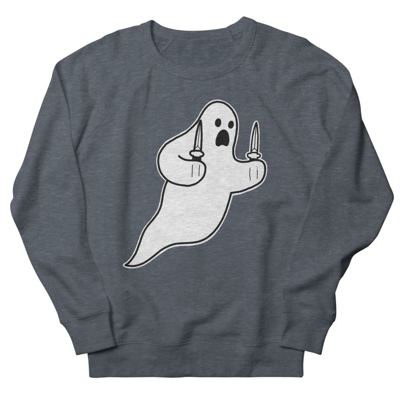 STAB GHOST Men's French Terry Sweatshirt by Tittybats's Artist Shop