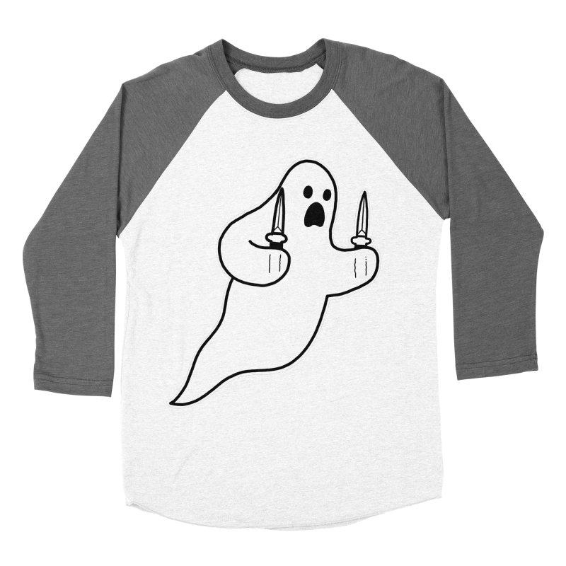 STAB GHOST Women's Longsleeve T-Shirt by Tittybats