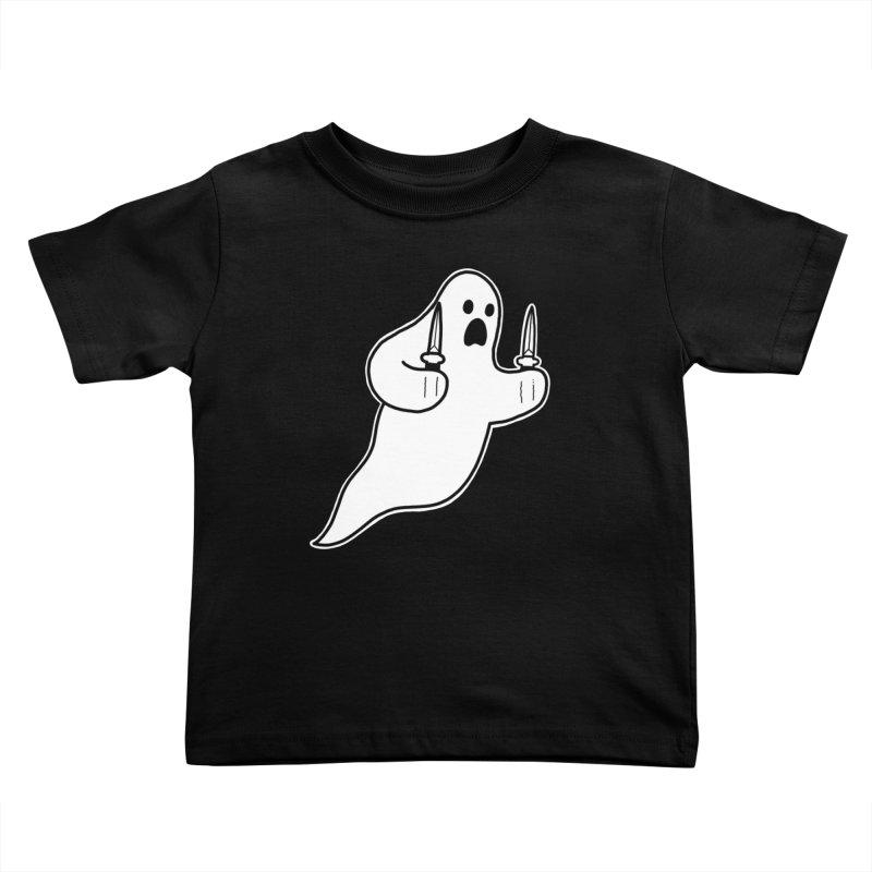 STAB GHOST Kids Toddler T-Shirt by Tittybats's Artist Shop