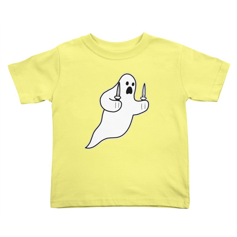 STAB GHOST Kids Toddler T-Shirt by Tittybats