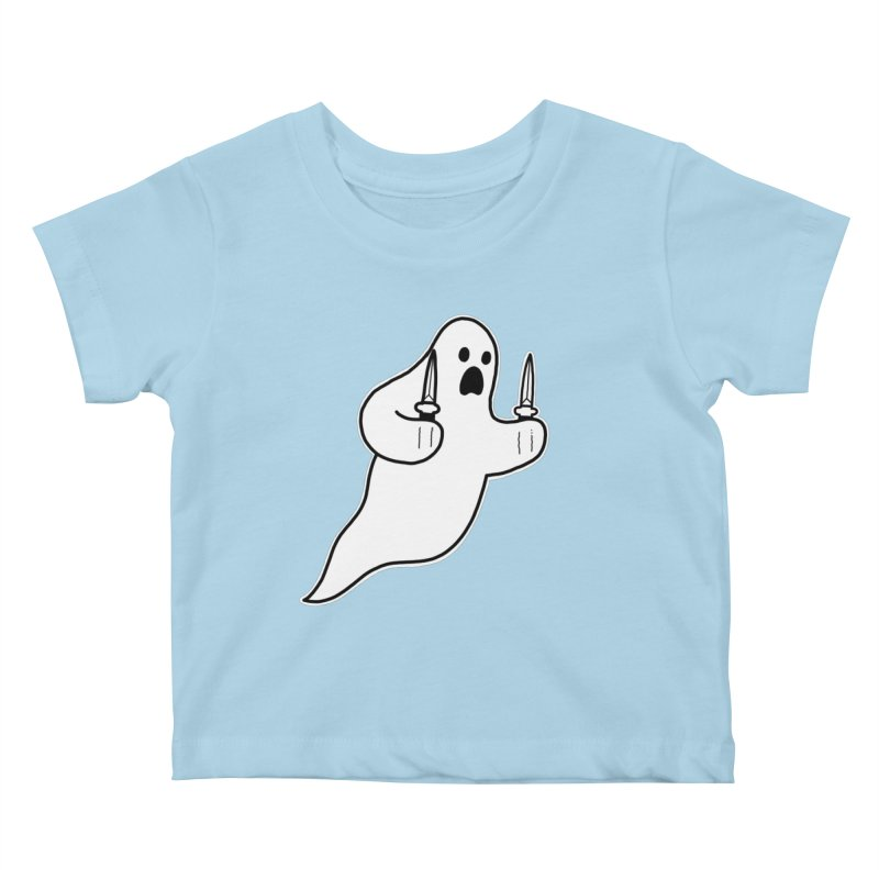 STAB GHOST Kids Baby T-Shirt by Tittybats