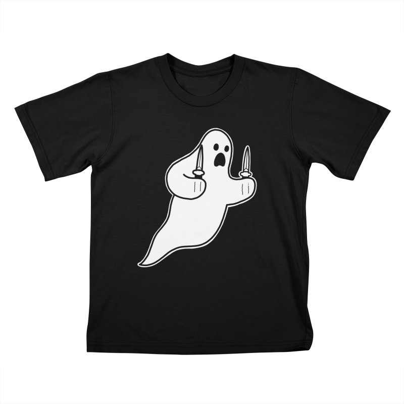 STAB GHOST Kids T-Shirt by Tittybats