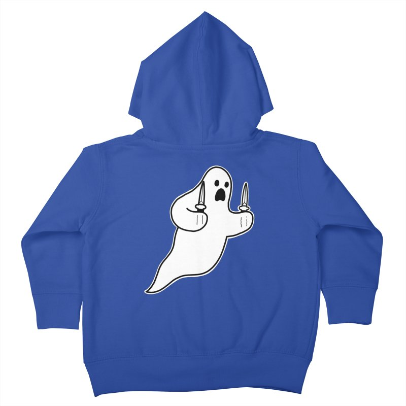 STAB GHOST Kids Toddler Zip-Up Hoody by Tittybats
