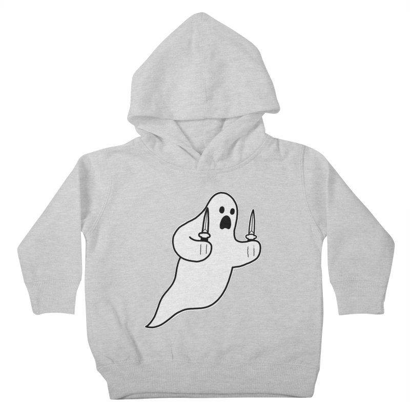 STAB GHOST Kids Toddler Pullover Hoody by Tittybats