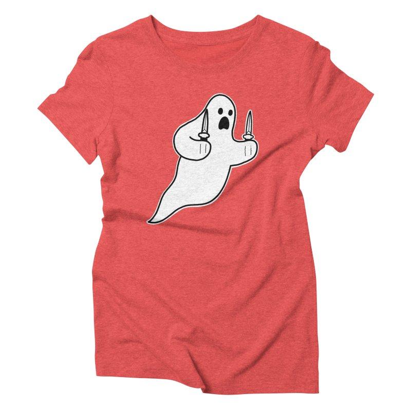 STAB GHOST Women's Triblend T-Shirt by Tittybats's Artist Shop