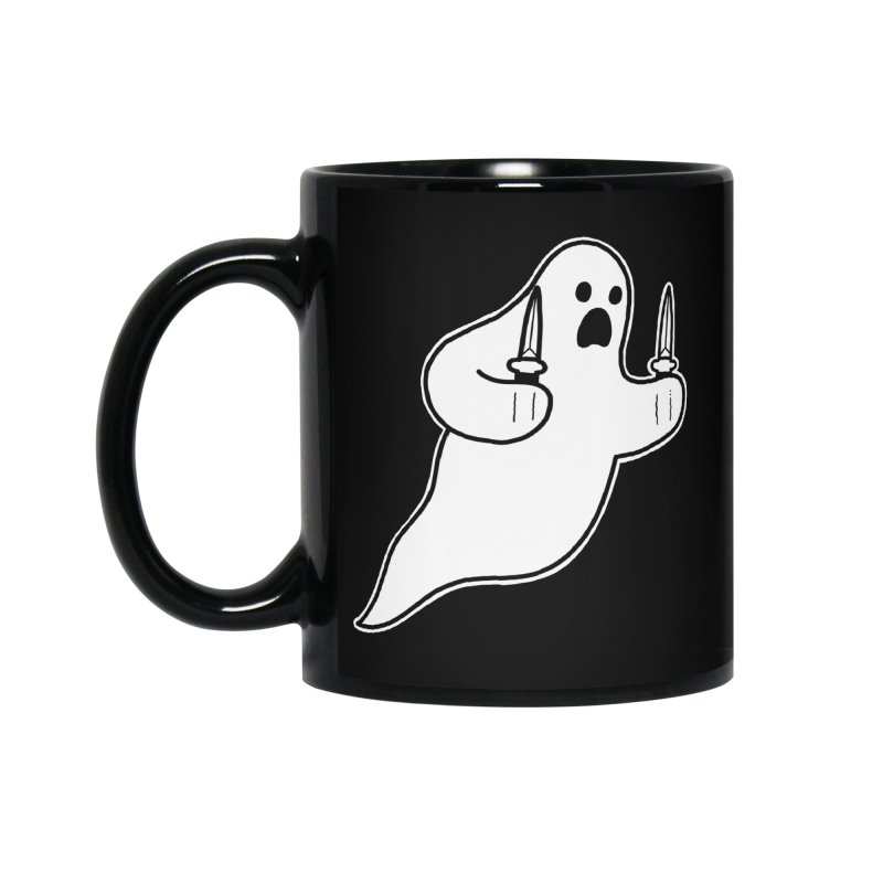 STAB GHOST Accessories Standard Mug by Tittybats