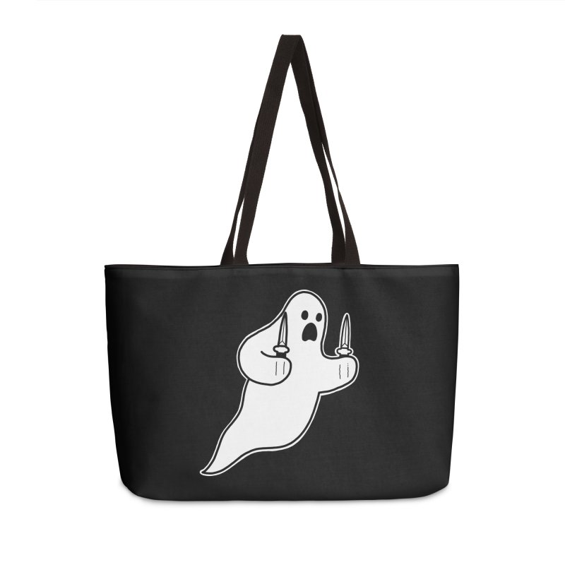 STAB GHOST Accessories Weekender Bag Bag by Tittybats