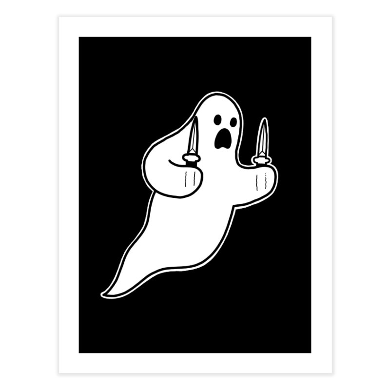 STAB GHOST Home Fine Art Print by Tittybats
