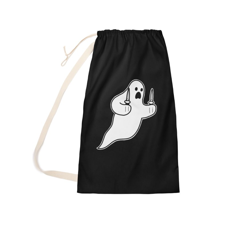 STAB GHOST Accessories Laundry Bag Bag by Tittybats