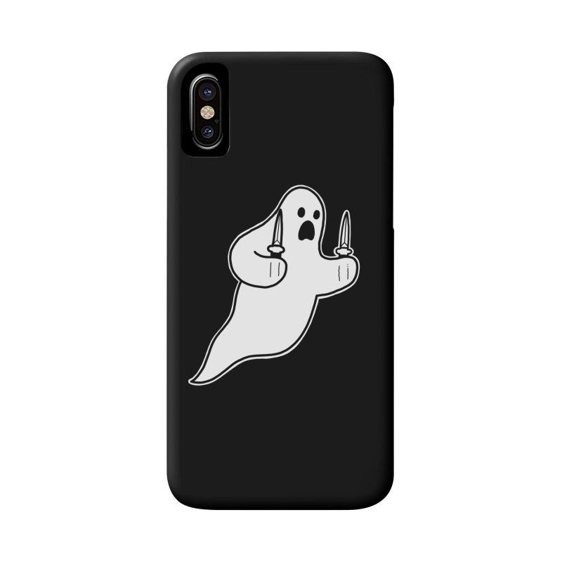STAB GHOST Accessories Phone Case by Tittybats