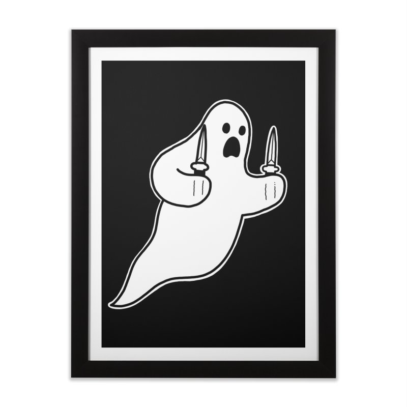 STAB GHOST Home Framed Fine Art Print by Tittybats