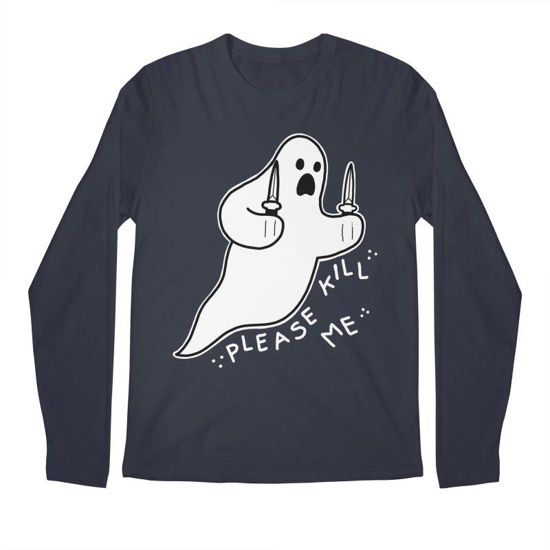 PLEASE KILL ME Men's Regular Longsleeve T-Shirt by Tittybats
