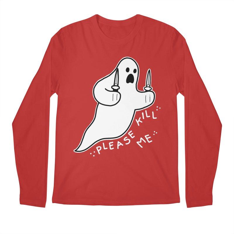 PLEASE KILL ME Men's Regular Longsleeve T-Shirt by Tittybats's Artist Shop