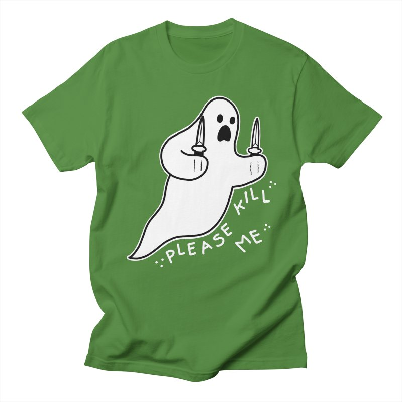 PLEASE KILL ME Men's Regular T-Shirt by Tittybats's Artist Shop
