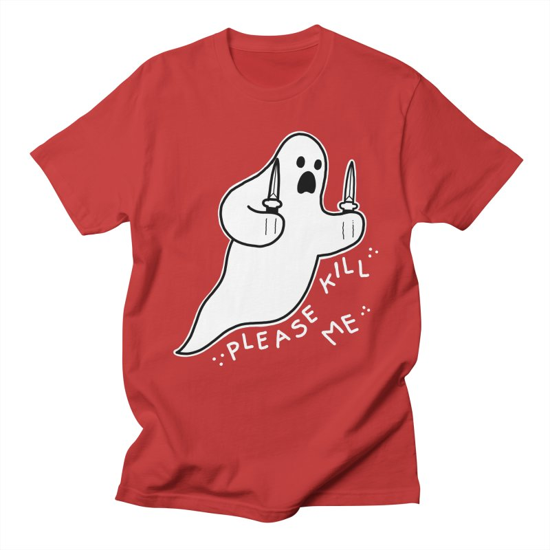 PLEASE KILL ME Men's Regular T-Shirt by Tittybats