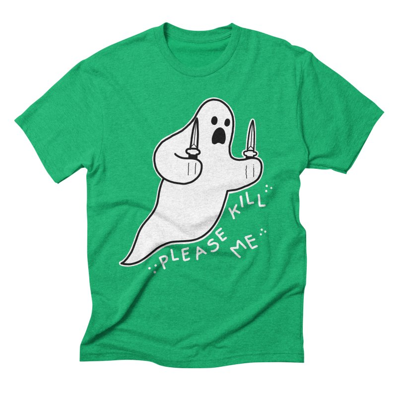 PLEASE KILL ME Men's Triblend T-Shirt by Tittybats