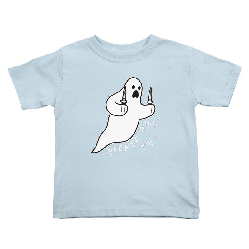 PLEASE KILL ME Kids Toddler T-Shirt by Tittybats