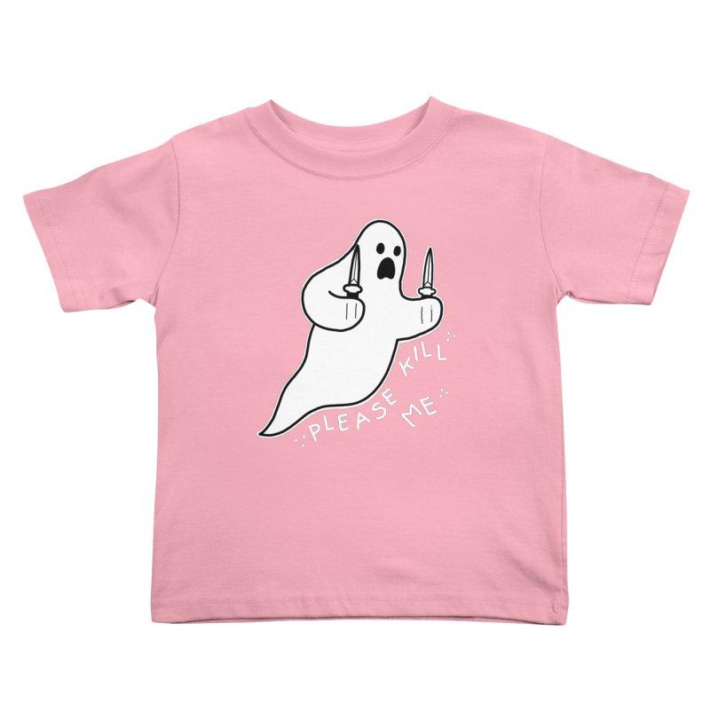 PLEASE KILL ME Kids Toddler T-Shirt by Tittybats's Artist Shop