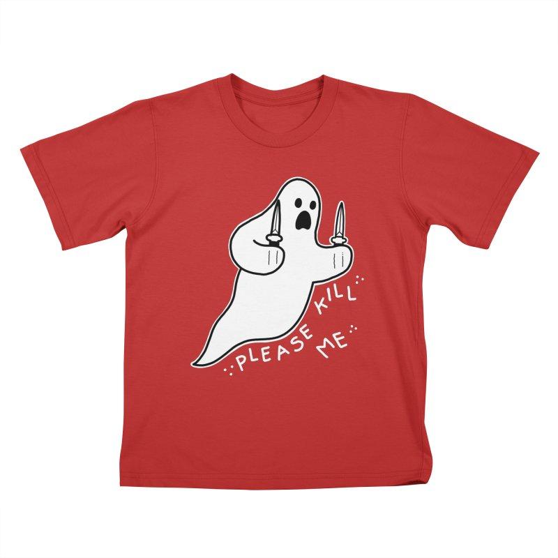 PLEASE KILL ME Kids T-Shirt by Tittybats's Artist Shop