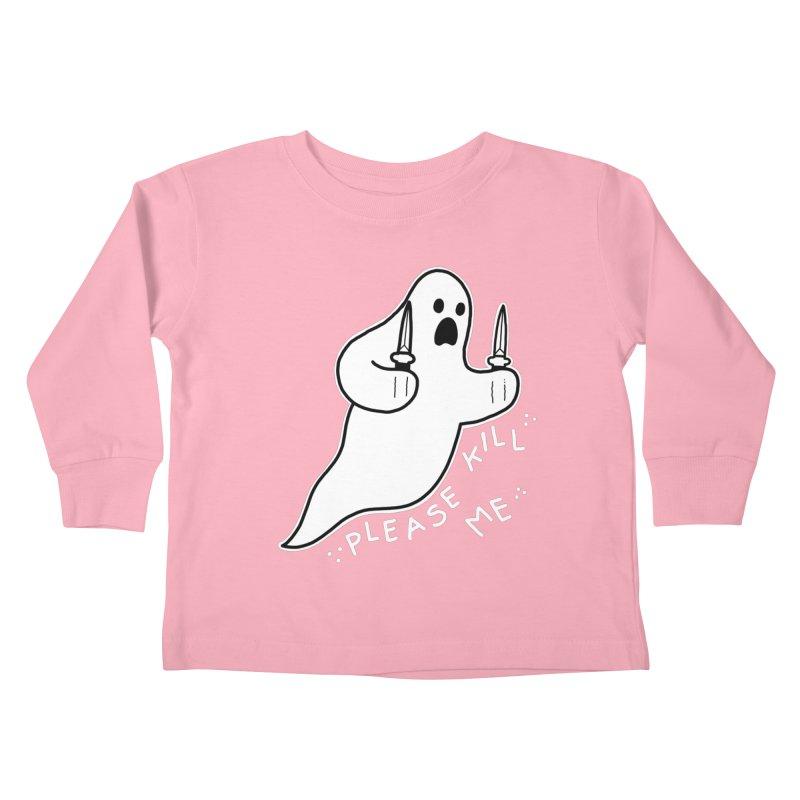PLEASE KILL ME Kids Toddler Longsleeve T-Shirt by Tittybats
