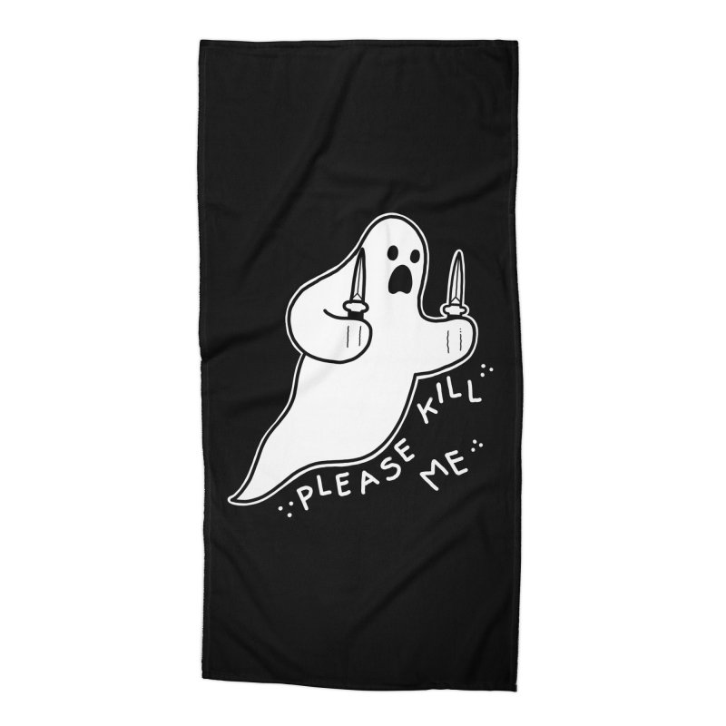 PLEASE KILL ME Accessories Beach Towel by Tittybats