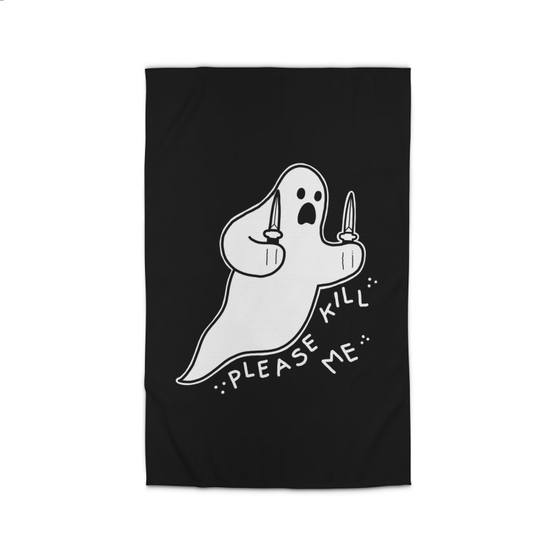 PLEASE KILL ME Home Rug by Tittybats's Artist Shop
