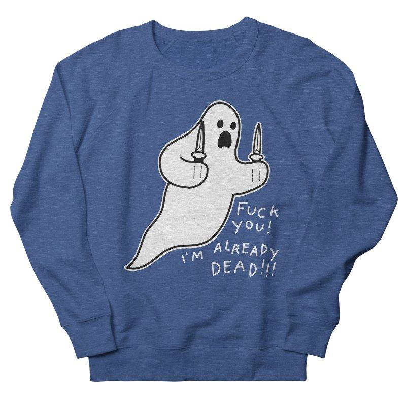ALREADY DEAD Men's French Terry Sweatshirt by Tittybats