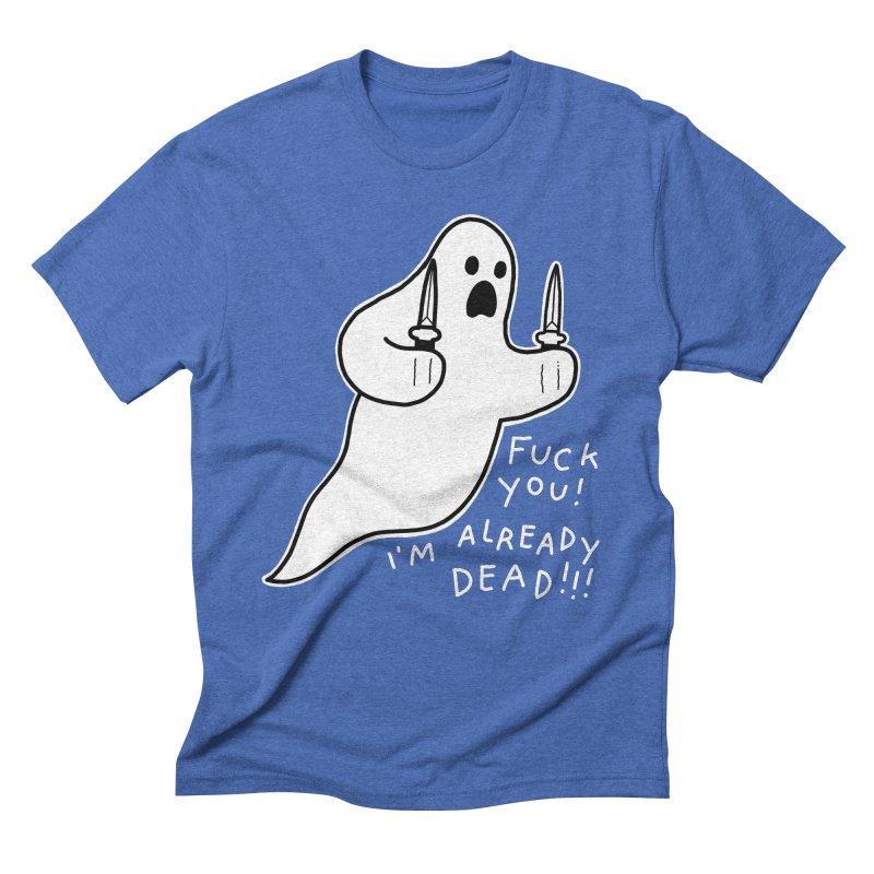 ALREADY DEAD Men's Triblend T-Shirt by Tittybats's Artist Shop