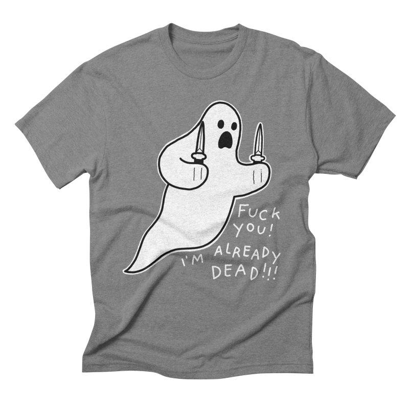 ALREADY DEAD Men's Triblend T-Shirt by Tittybats