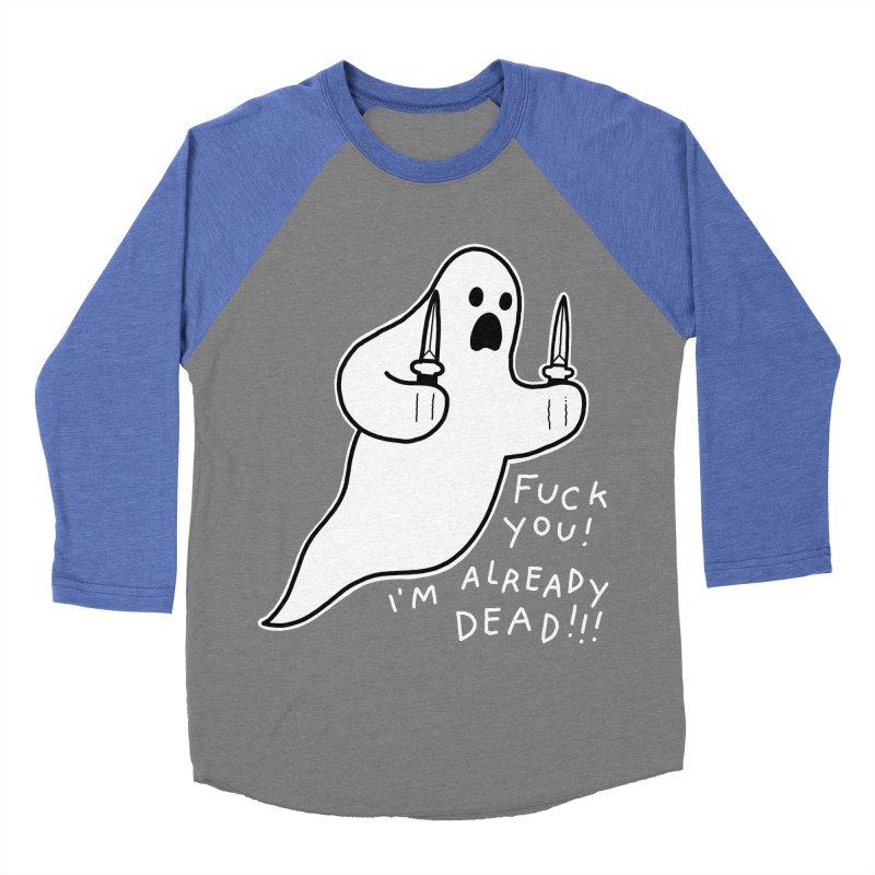 ALREADY DEAD Women's Baseball Triblend Longsleeve T-Shirt by Tittybats's Artist Shop