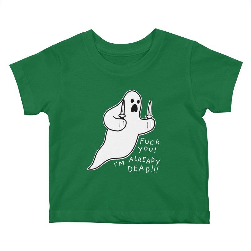 ALREADY DEAD Kids Baby T-Shirt by Tittybats