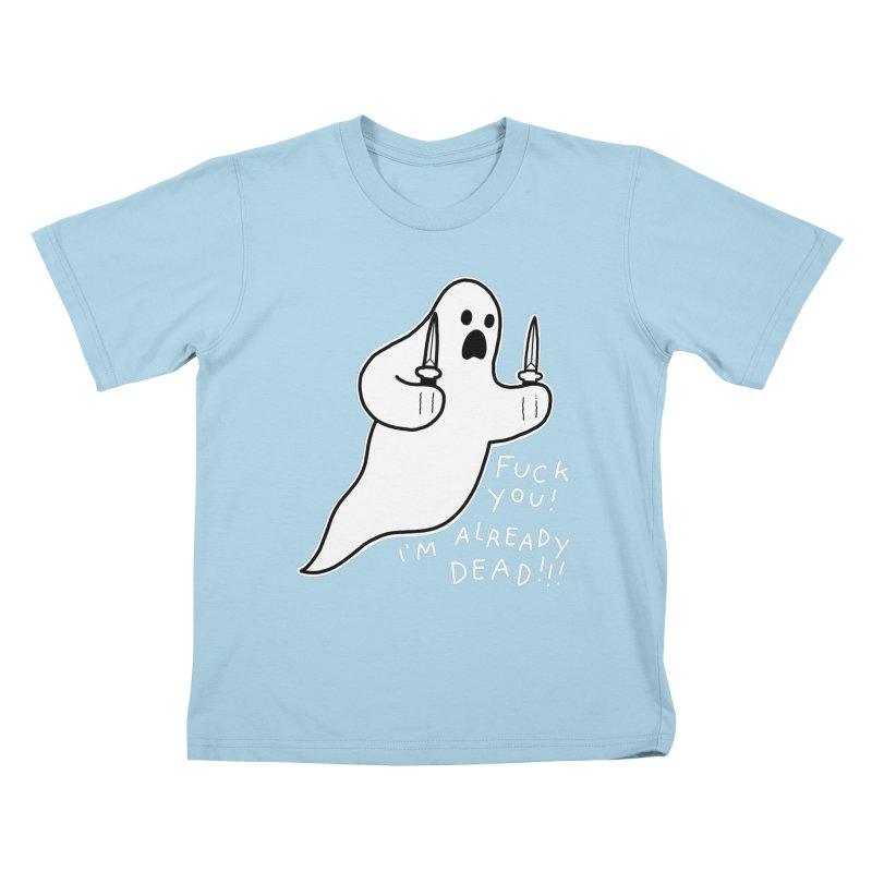 ALREADY DEAD Kids T-Shirt by Tittybats