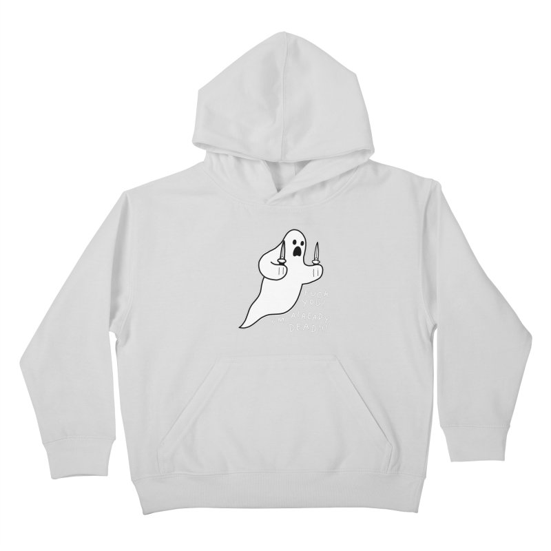 ALREADY DEAD Kids Pullover Hoody by Tittybats