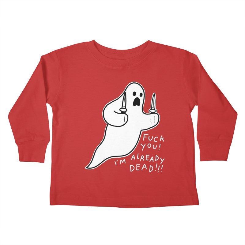 ALREADY DEAD Kids Toddler Longsleeve T-Shirt by Tittybats's Artist Shop
