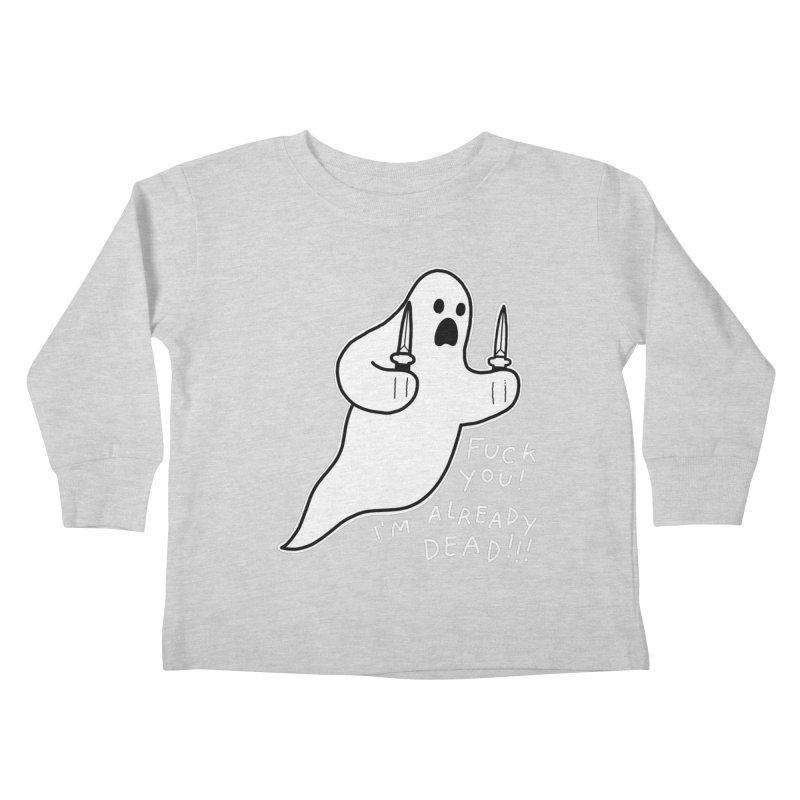 ALREADY DEAD Kids Toddler Longsleeve T-Shirt by Tittybats