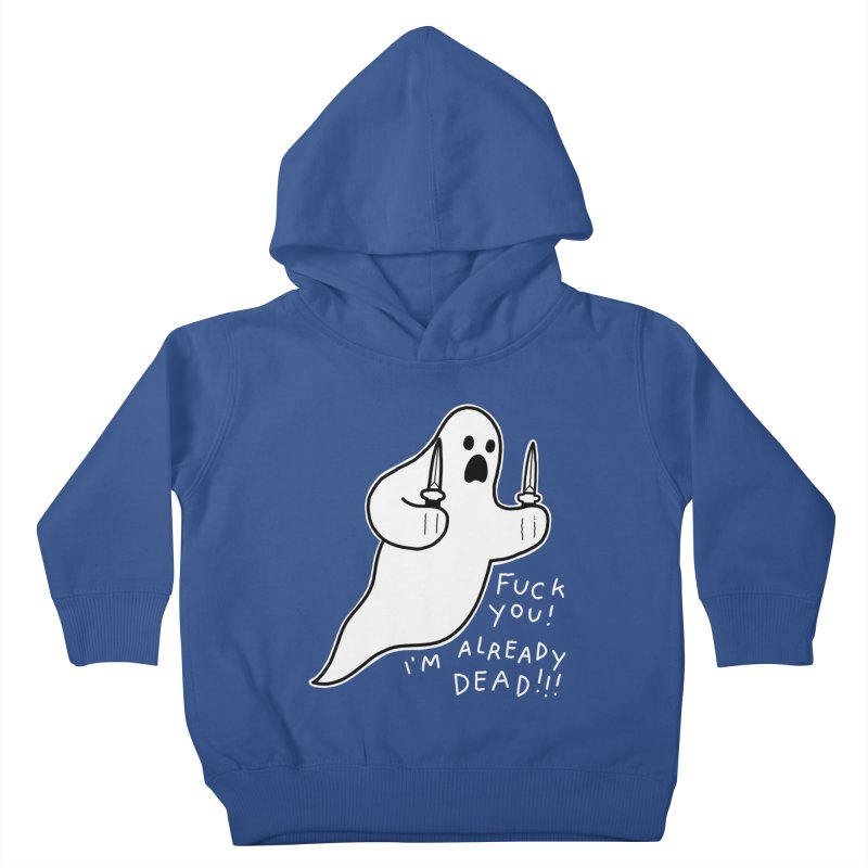 ALREADY DEAD Kids Toddler Pullover Hoody by Tittybats