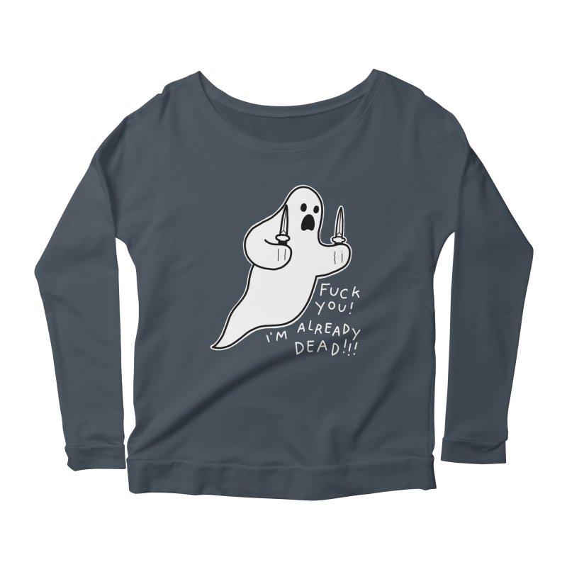 ALREADY DEAD Women's Scoop Neck Longsleeve T-Shirt by Tittybats