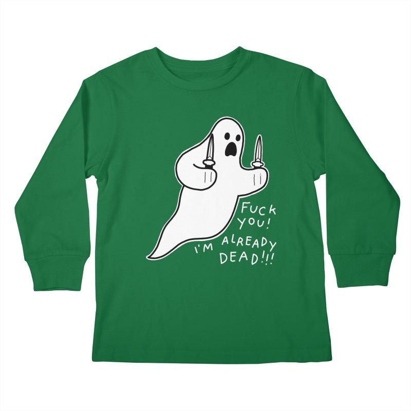 ALREADY DEAD Kids Longsleeve T-Shirt by Tittybats