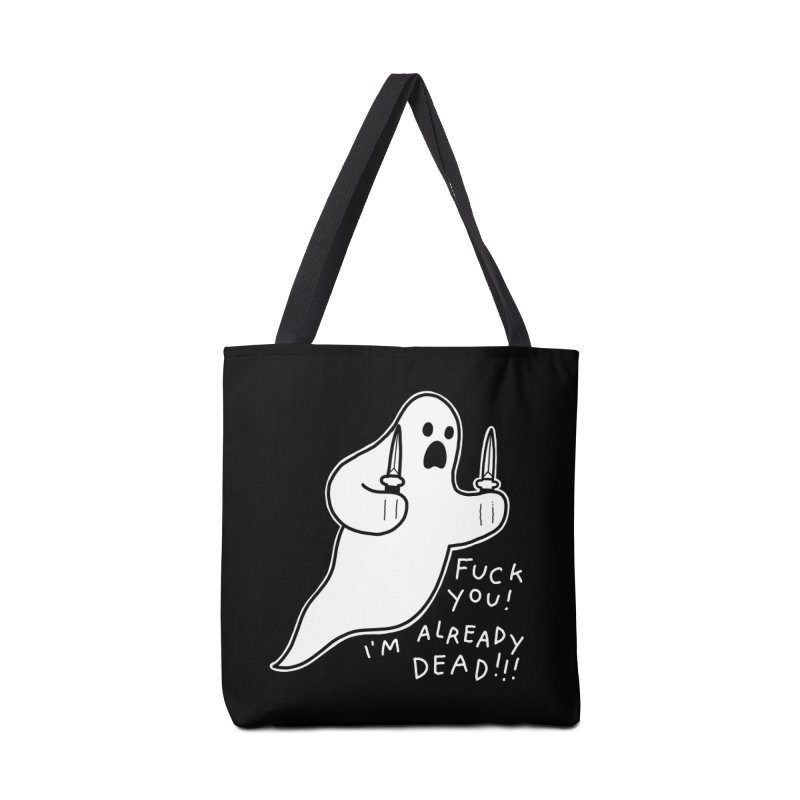 ALREADY DEAD Accessories Tote Bag Bag by Tittybats