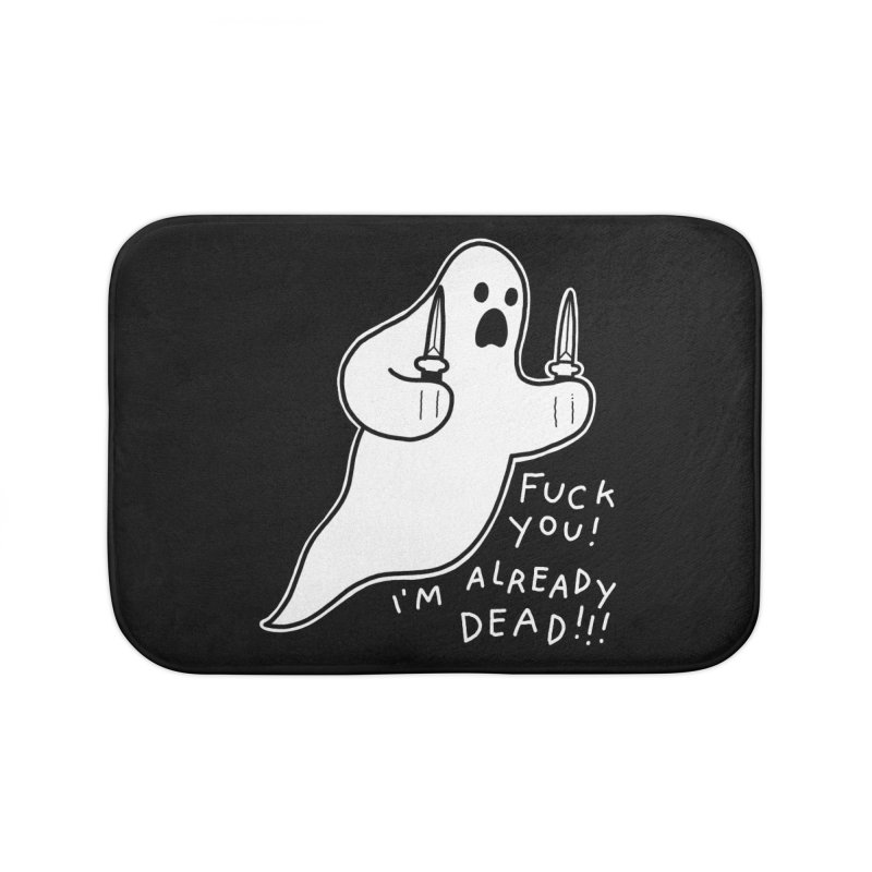 ALREADY DEAD Home Bath Mat by Tittybats