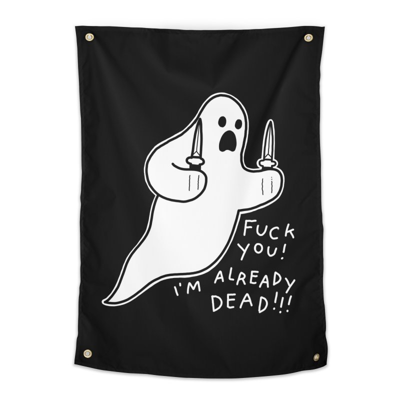 ALREADY DEAD Home Tapestry by Tittybats