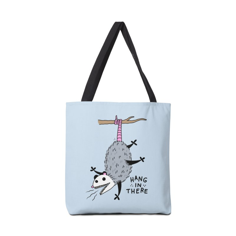 HANG IN THERE POSSUM Accessories Tote Bag Bag by Tittybats