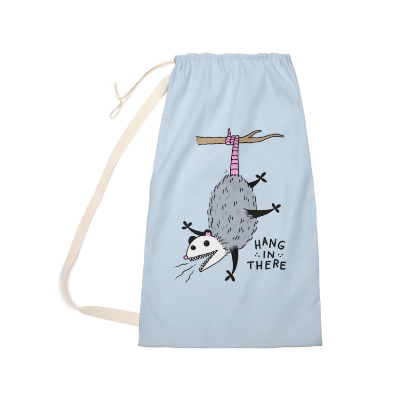 HANG IN THERE POSSUM Accessories Laundry Bag Bag by Tittybats