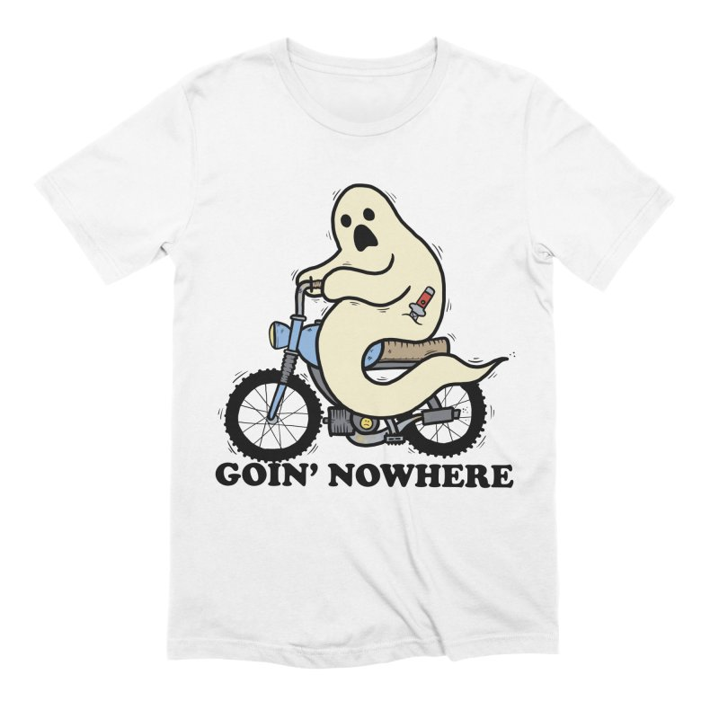 GOIN' NOWHERE Men's Extra Soft T-Shirt by Tittybats