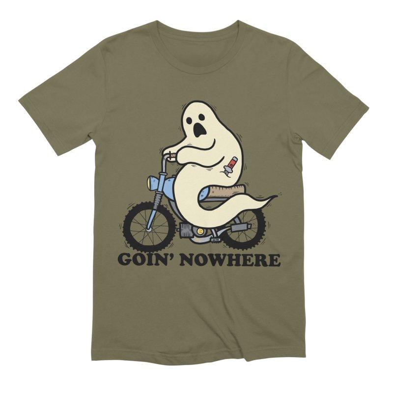 GOIN' NOWHERE Men's Extra Soft T-Shirt by Tittybats