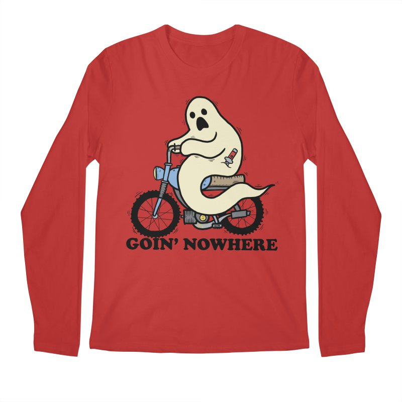 GOIN' NOWHERE Men's Regular Longsleeve T-Shirt by Tittybats