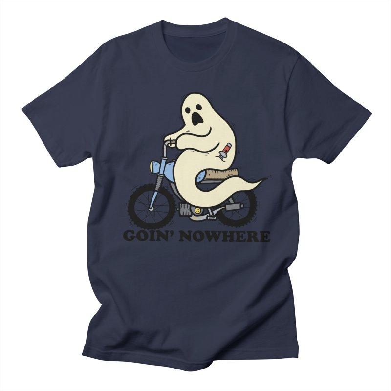 GOIN' NOWHERE Men's Regular T-Shirt by Tittybats